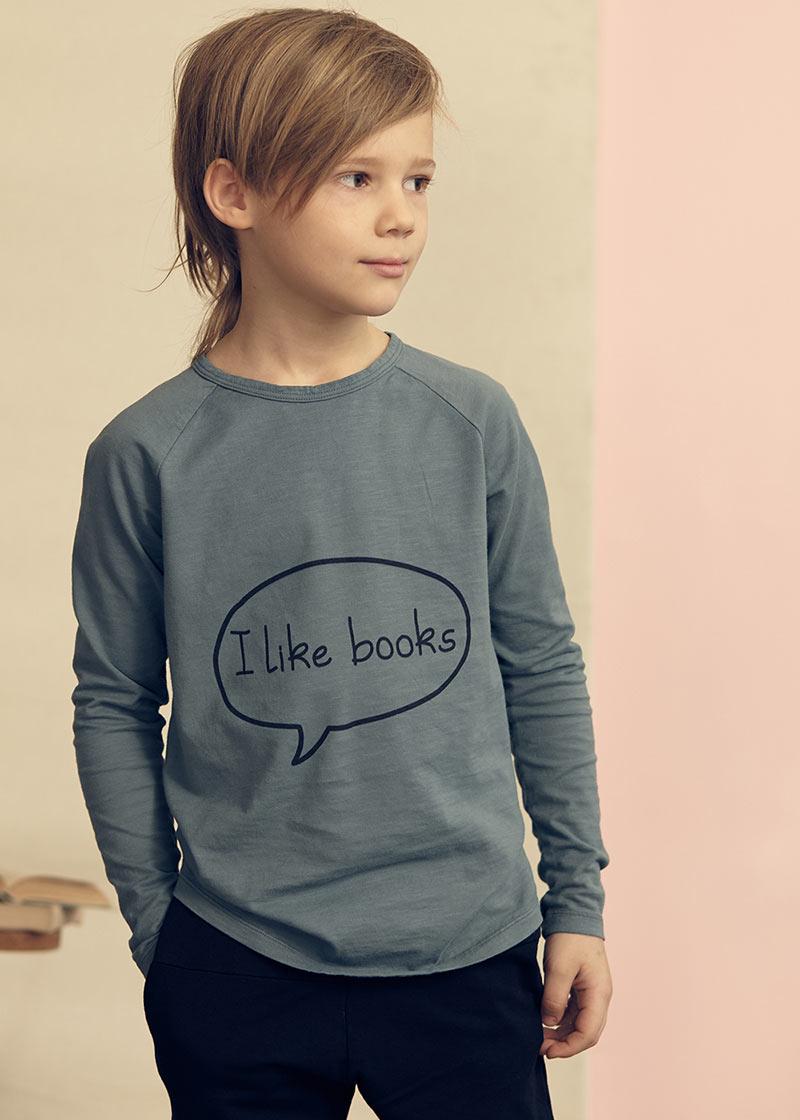 I like books longsleeve t-shirt from Kids on the Moon