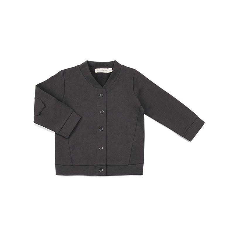 Philandphae-sweat-cardigan-Roxi-graphite-citzzy-kids-concept-store
