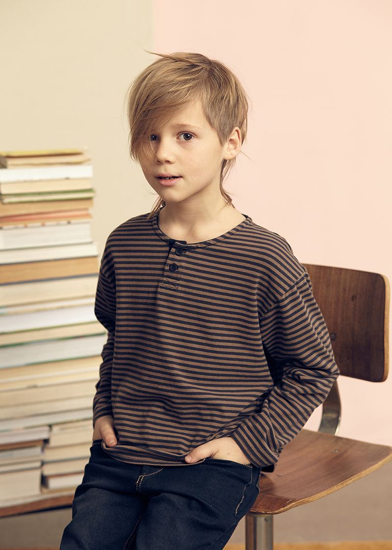 Tom Sawyer longsleeve striped t-shirt from Kids on the Moon