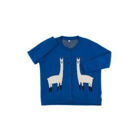 Llama-cardigan-blue-beige-citzzy-kids-concept-store