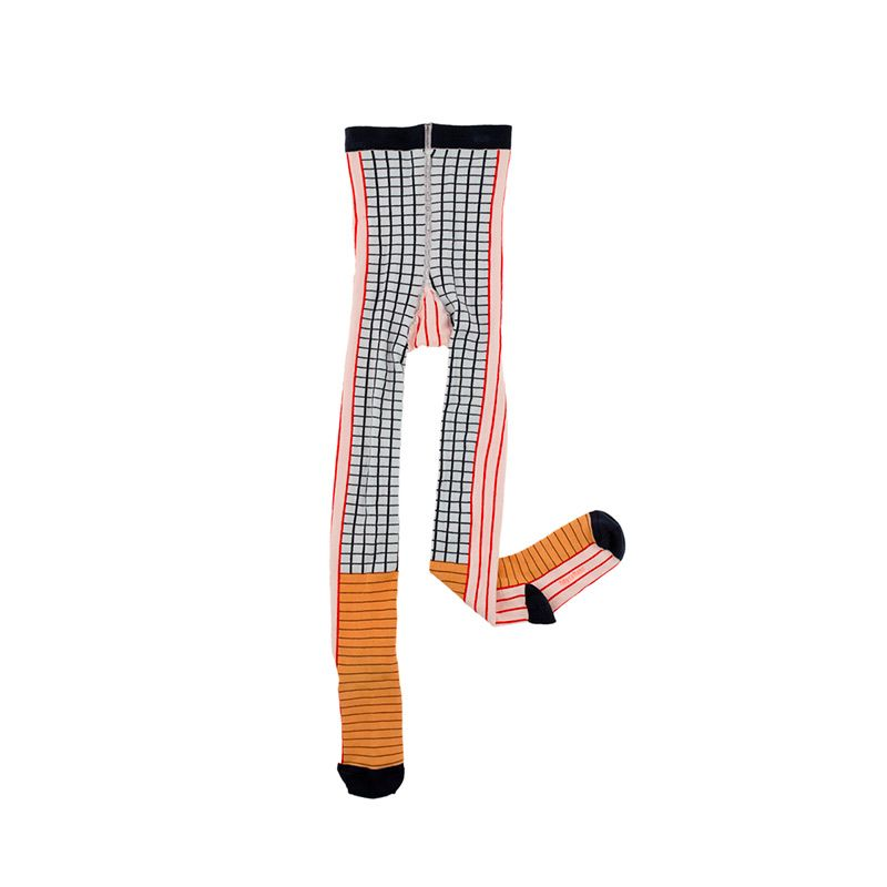 Lines-grid-tights-multicolor- citzzy-kids-concept-store