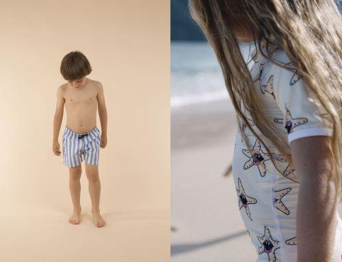 Bañadores para niño y niña y accesorios para el baño
