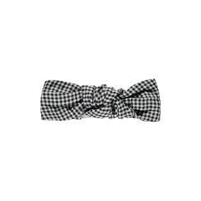 Headban chardon gingham from Poudre Organic