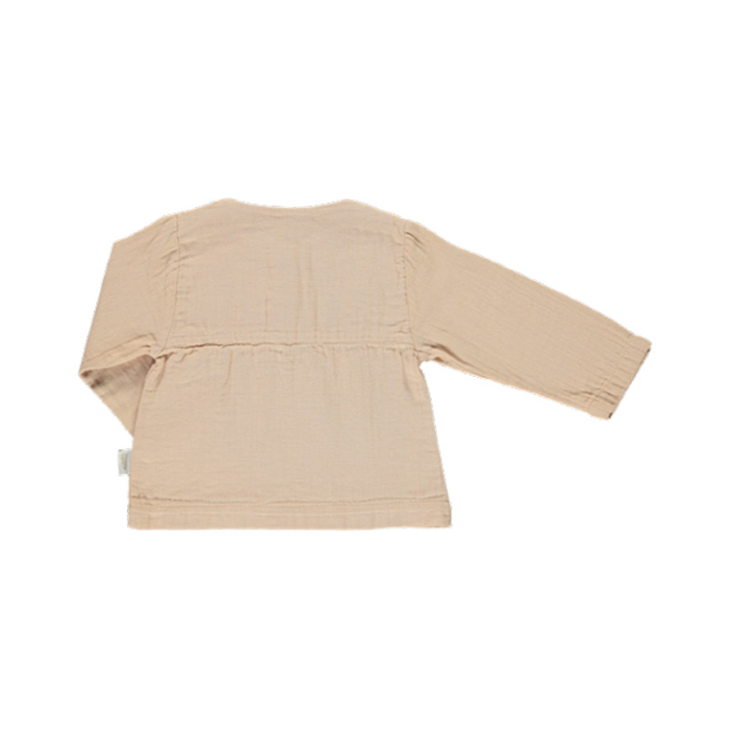 Blouse reglisse amberlight from Poudre Organic