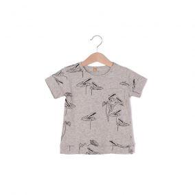 Camiseta gris ranas de Lotiekids