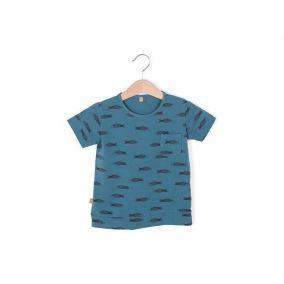 Camiseta azul peces de Lotiekids