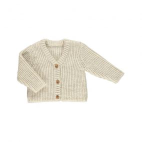 Wool jacket witloof beige from Poudre Organic
