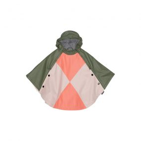 Crouching tiger waterproof cape from Gosoaky