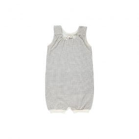 Baby jumpsuit grid from Gro Company