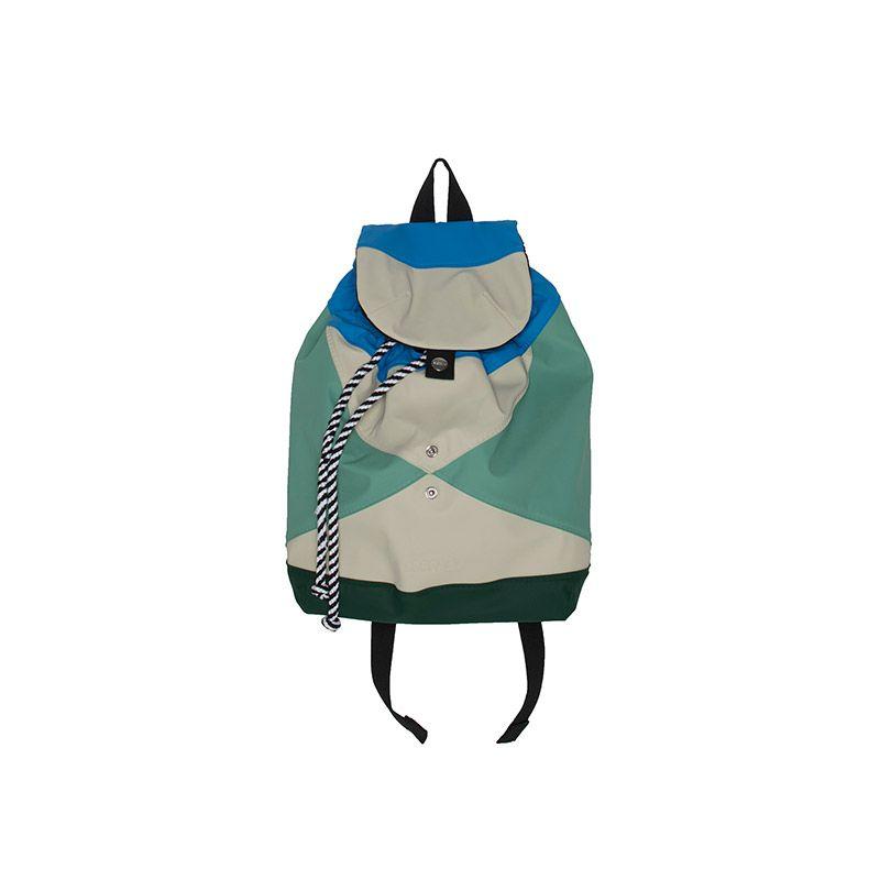 Multi blue unisex backpack from Gosoaky