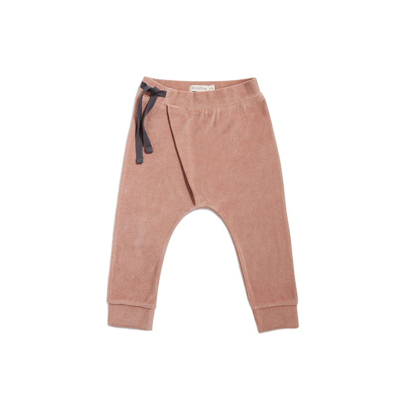 Harem pants velvet dusty blush from Phil&phae