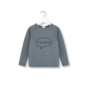 I like books longsleeve t-shirt from Kids on the Moon