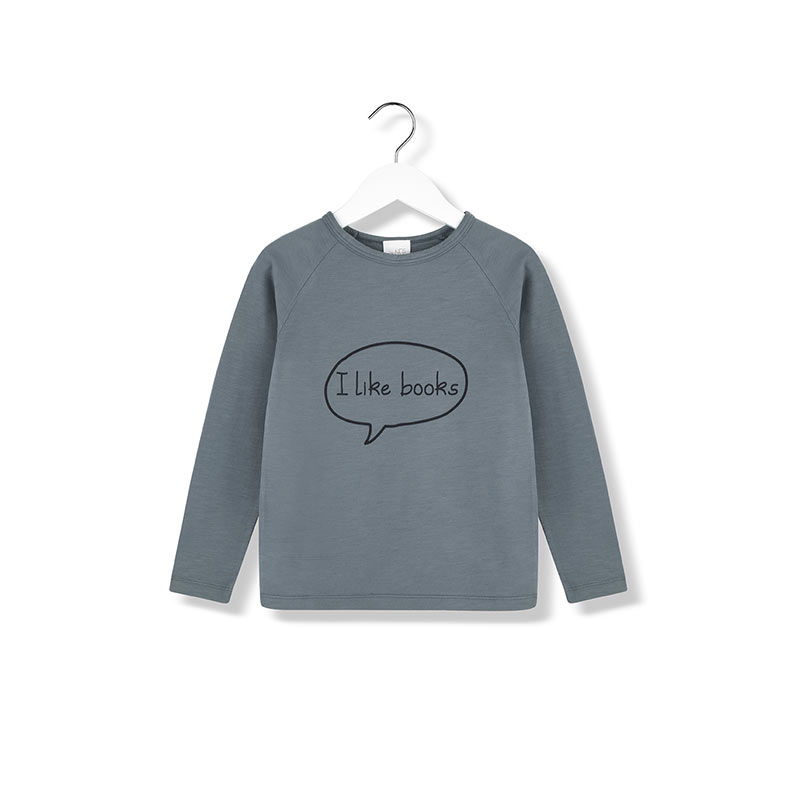 I love books longsleeve t-shirt from Kids on the Moon