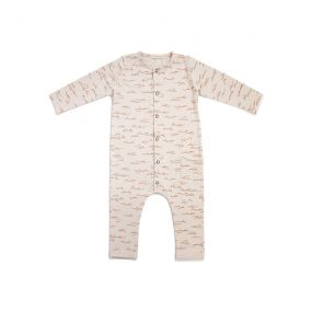 Jumpsuit alloverprint oatmeal from Phil&phae