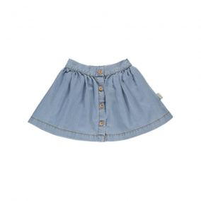 Hysope denim skirt from Poudre Organic