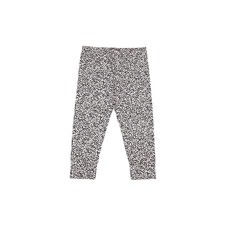 Leggings speckles black and white from Mingo