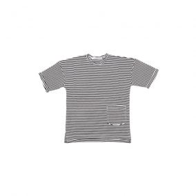 T-shirt black and white stripes from Mingo