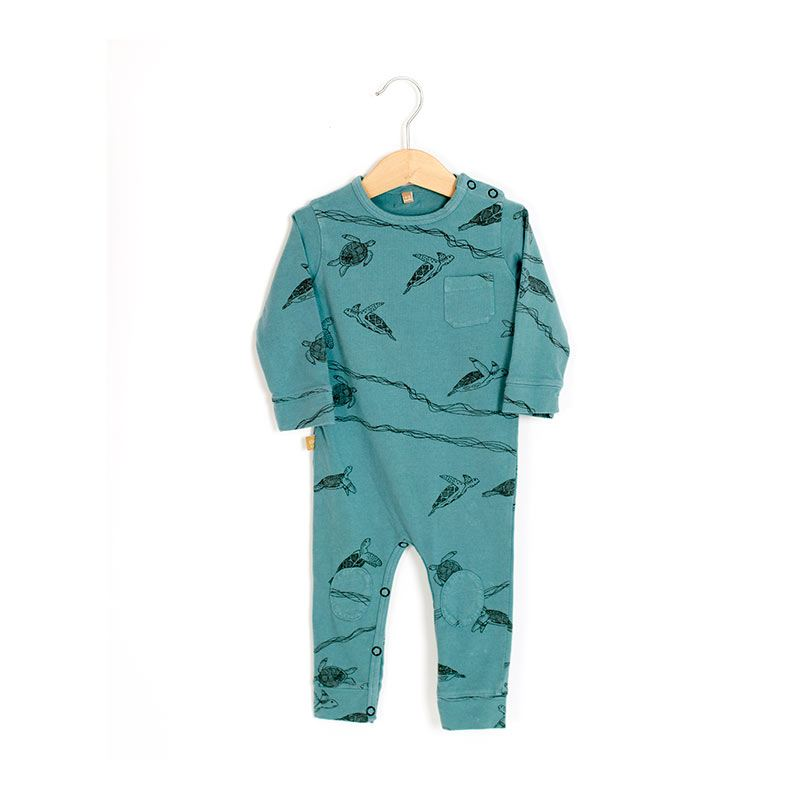 Mono baby tortugas azul de Lotiekids