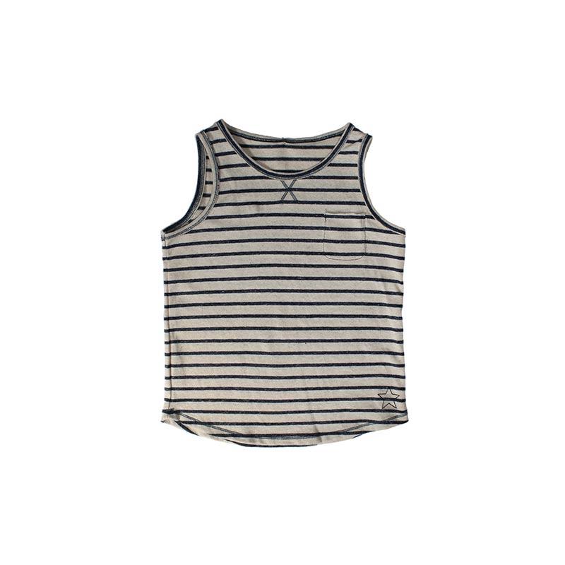 Camiseta de punto sin mangas de Tocoto Vintage