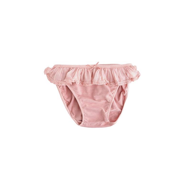 Braguita bañador bebé rosa de Tocoto Vintage