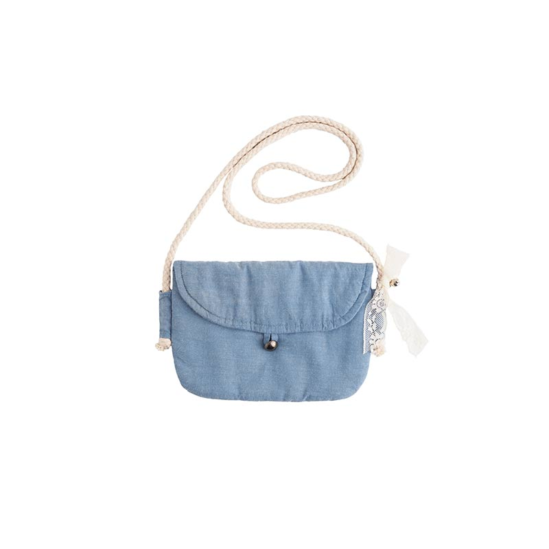 Bolso mini azul de Tocoto Vintage