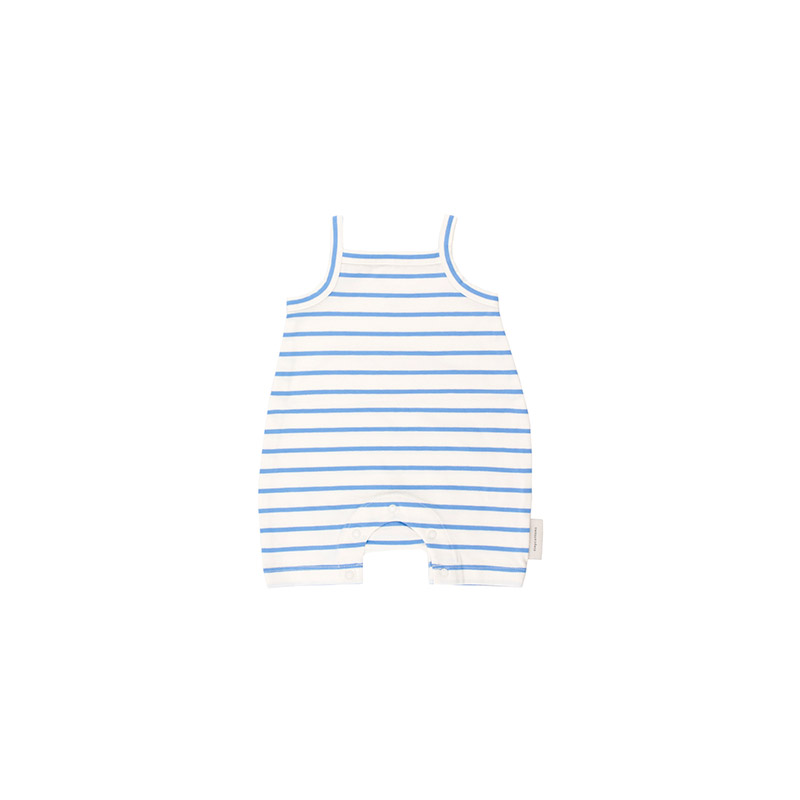 Blue stripes short onepiece from Tinycottons