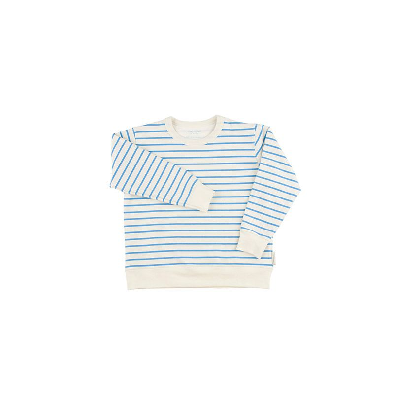 Blue stripes sweatshirt from Tinycottons