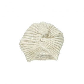 Wool cap turban pivoine from Poudre Organic