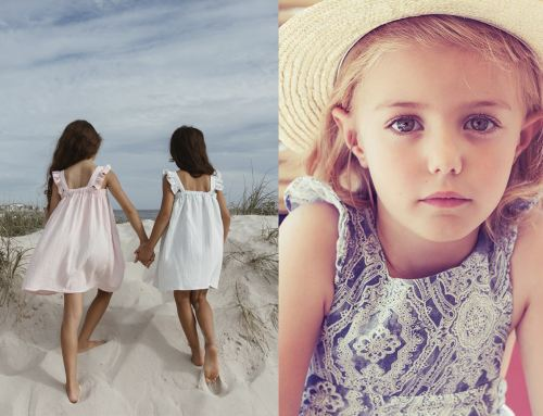 Vestidos para niña especiales para fiestas de primavera y verano