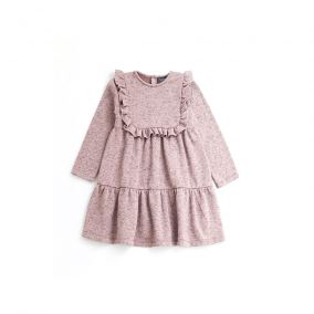 Plush dress pink from Tocoto Vintage