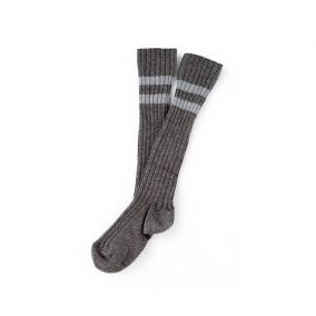 Ribbed striped socks from Tocoto Vintage