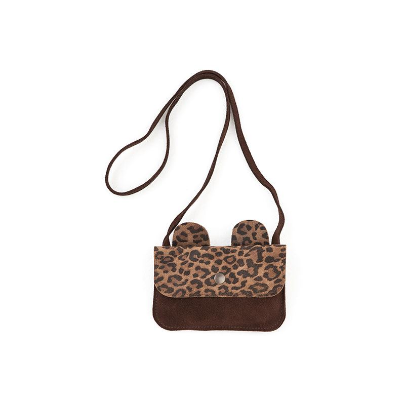 Bear leather bag brown from Tocoto Vintage