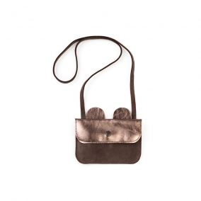 Bear leather bag grey from Tocoto Vintage