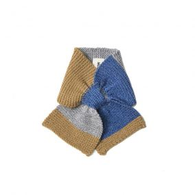 Baby alpaca scarf blue from As We Grow