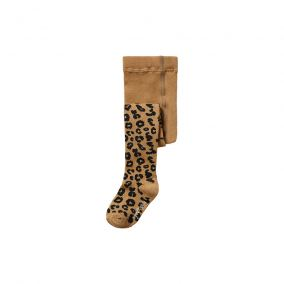 Brown leopard tights from Maed for Mini