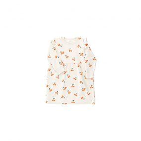 Cherries fleece dress from Tinycottons