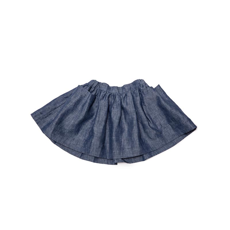 Denim skirt from As We Grow