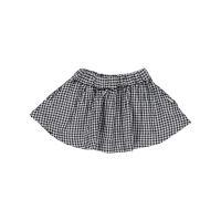 Short skirt gingham from Poudre Organic