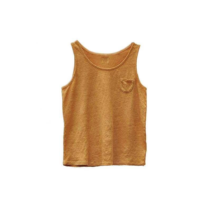 Camiseta sin mangas Lino de Le Petit Germain