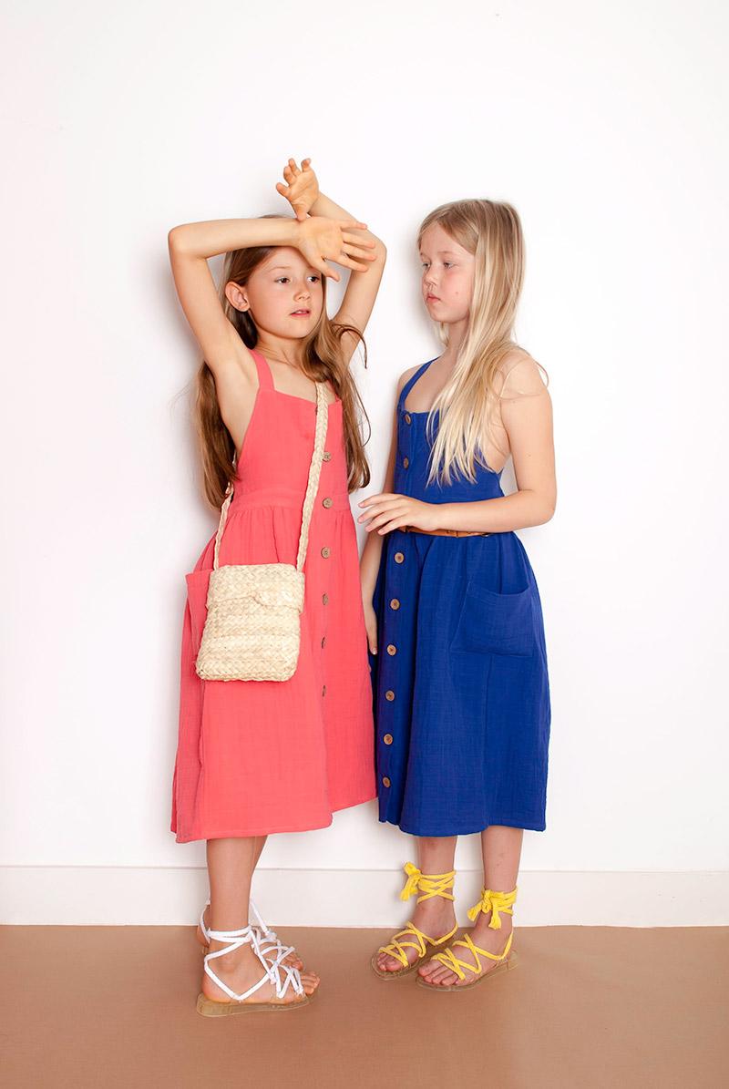 Sleeveless Dress Carlota Barnabe Citzzy Kids Concept Store