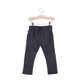 Pantalones 5 bolsillos negro liso de Lotiekids