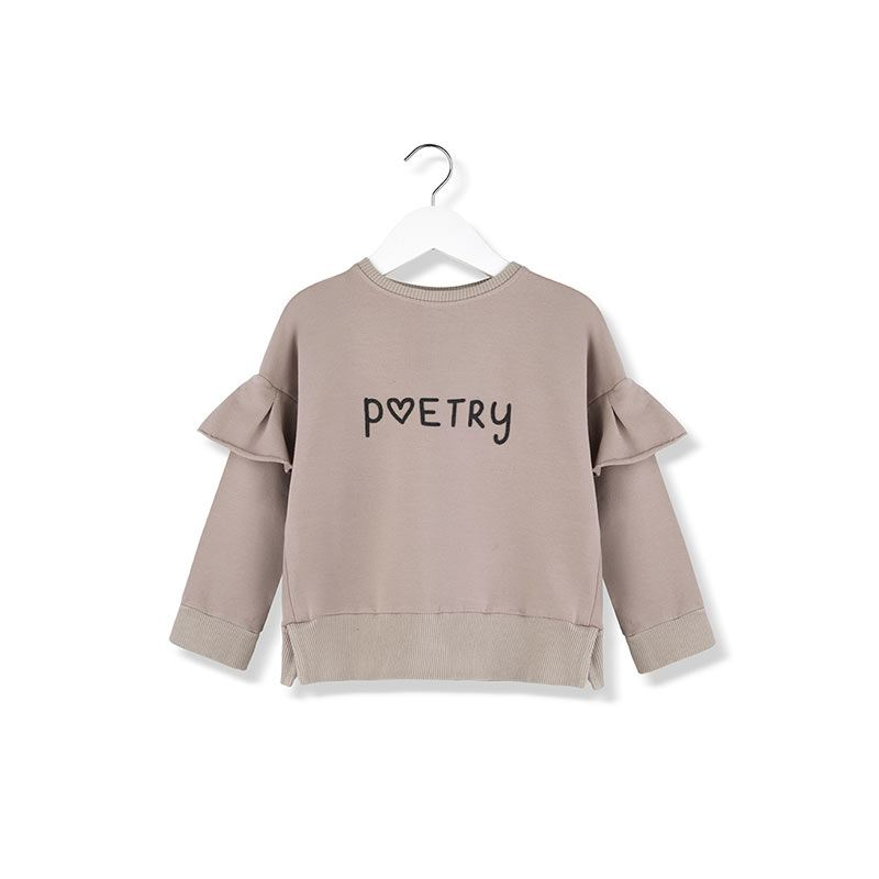 Poetry sweatshirt from Kids on the Moon