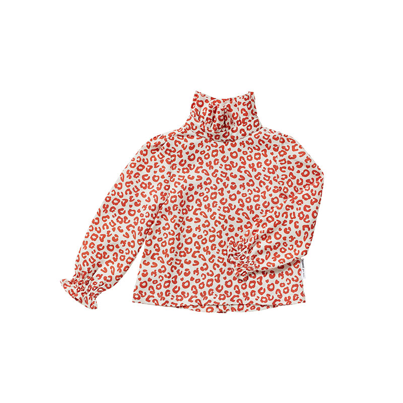 Red leopard blouse from Maed for Mini