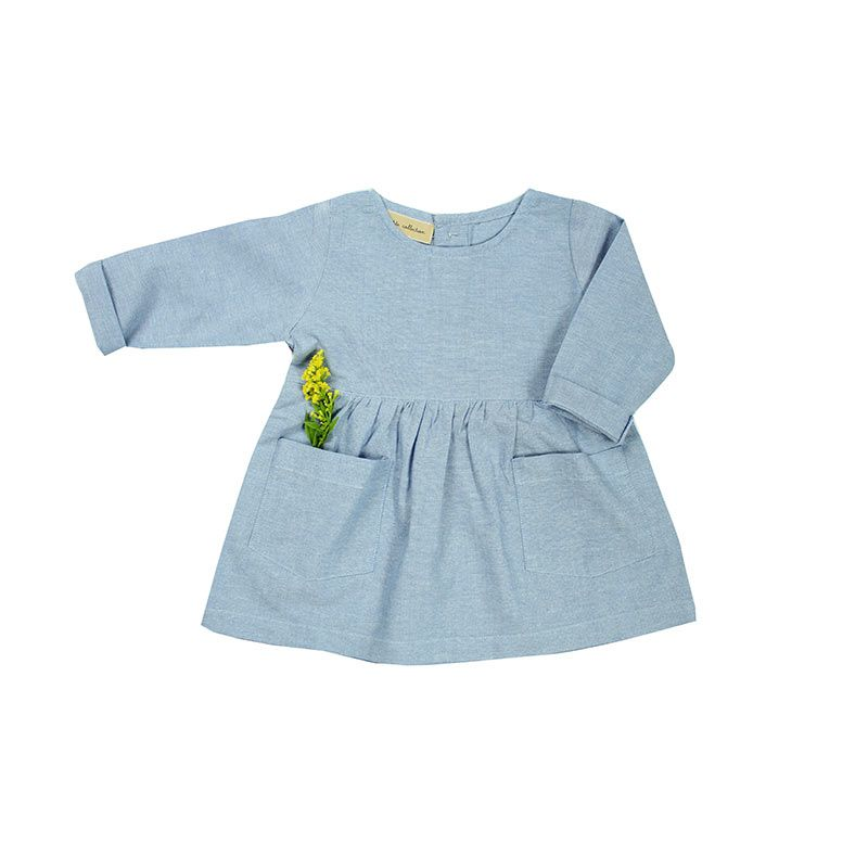 Petite-collection-chambray-ciel-dress-citzzy-kids-concept-store