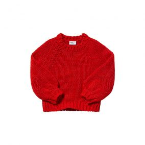 Spicy parrot knit sweater from Maed for Mini