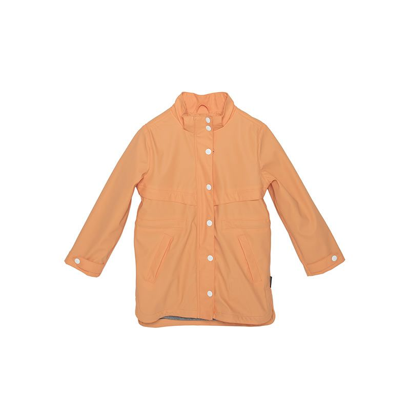 Tiger Lily lined girls orange jacket from Gosoaky