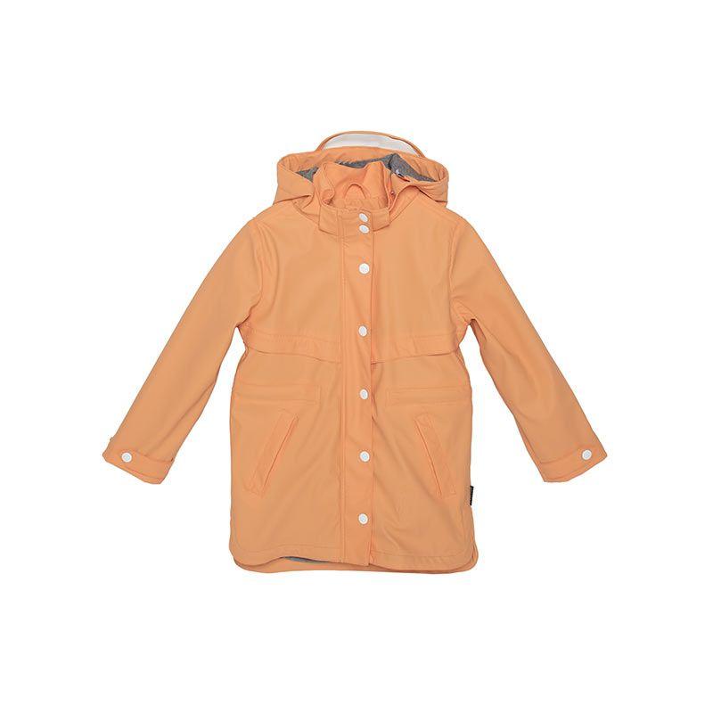 Tiger Lily lined girls orange jacket from Gosoaky