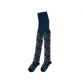 Tights speckle black iris from Mingo